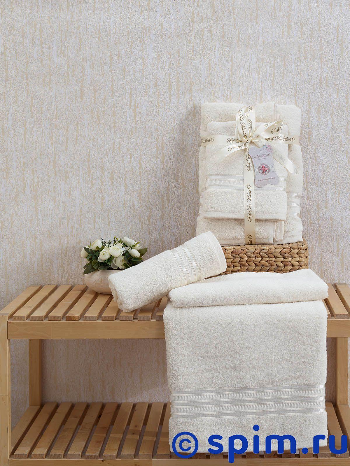 Набор из 2-х полотенец Sofi De Marko Nueva, кремовый набор из 2 х полотенец sofi de marko nueva стоне