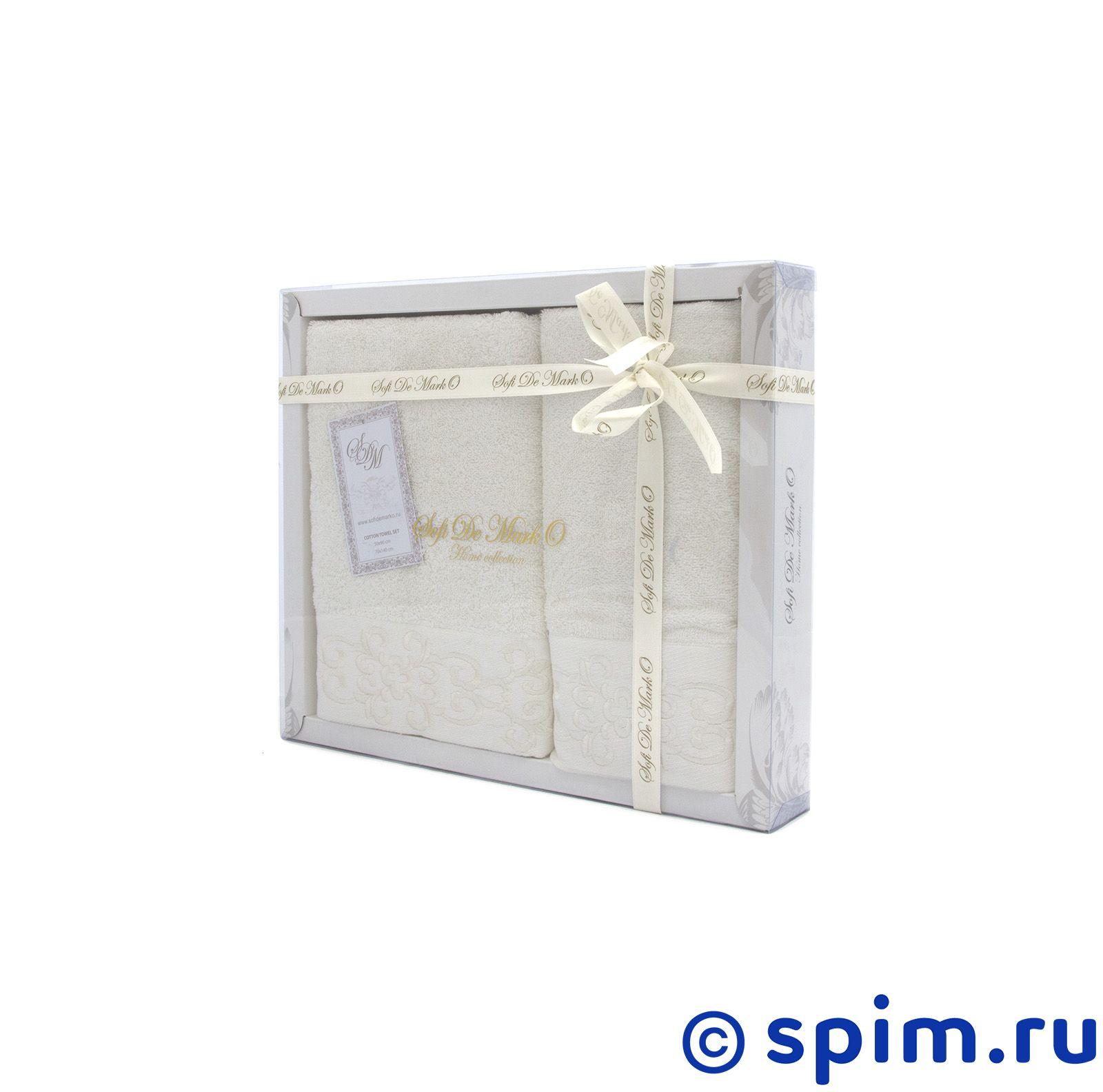 Набор из 2-х полотенец Sofi De Marko Verna, экрю полотенце детское арти м набор из 2 полотенец для ванной 820 0