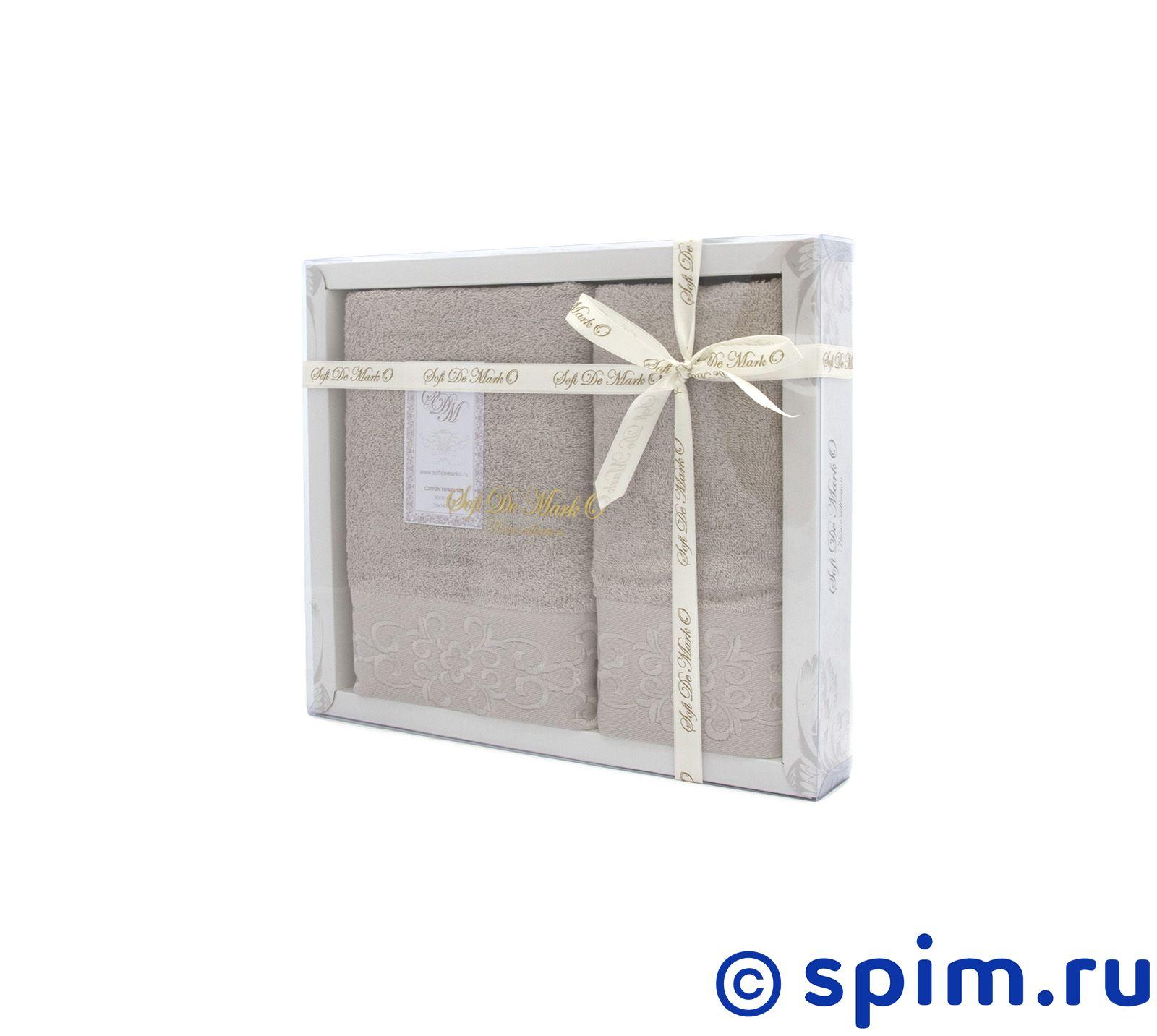 Набор из 2-х полотенец Sofi De Marko Verna, бежевый набор из 2 х полотенец sofi de marko nueva стоне
