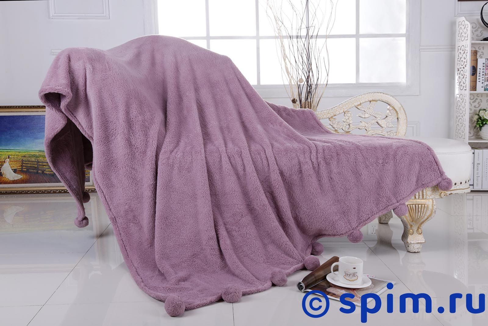 Плед Sofi De Marko Softness 3, розовый 160х220 см блуза jacqueline de yong jacqueline de yong ja908ewxaf30