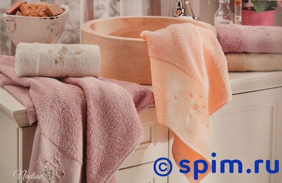 Набор из 2-х полотенец La Villa de Paris Nadine, темно-розовый полотенце la villa de paris nadine 50х100 см бежевое