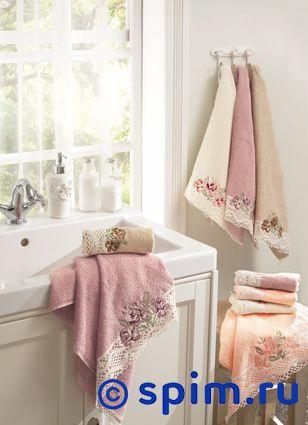 Набор из 3-х полотенец La Villa de Paris Madaline, кремовый полотенце la villa de paris nadine 50х100 см кремовое