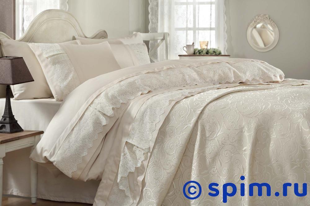 Постельное белье Gelin Home с покрывалом, Mine шампань Евро-стандарт