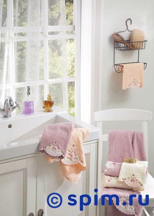 Набор из 3-х полотенец La Villa de Paris Gina, персиковый полотенце la villa de paris nadine 50х100 см кремовое