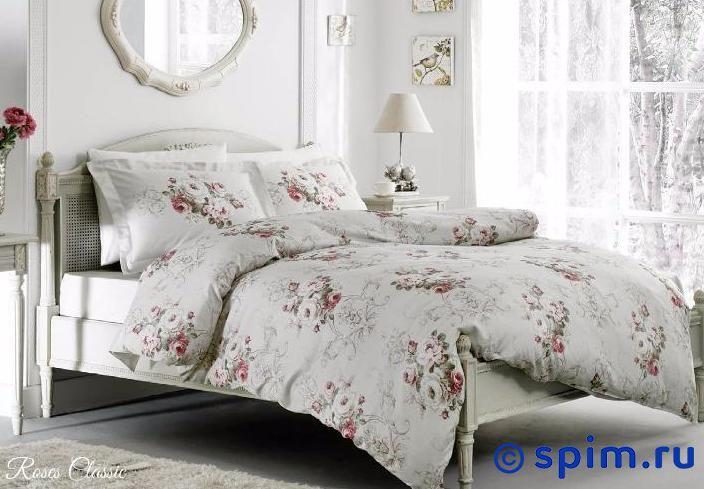Постельное белье Tivolyo Delux Rose Classic 1.5 спальное постельное белье tivolyo delux viola евро стандарт