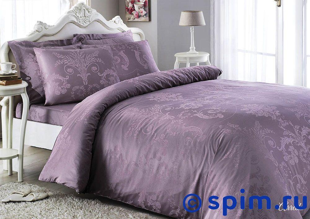 Купить Жаккардовое постельное белье Tivolio Arredo, фиолетовое Евро-стандарт, Arredo жаккард, фиолетовое, Tivolyo