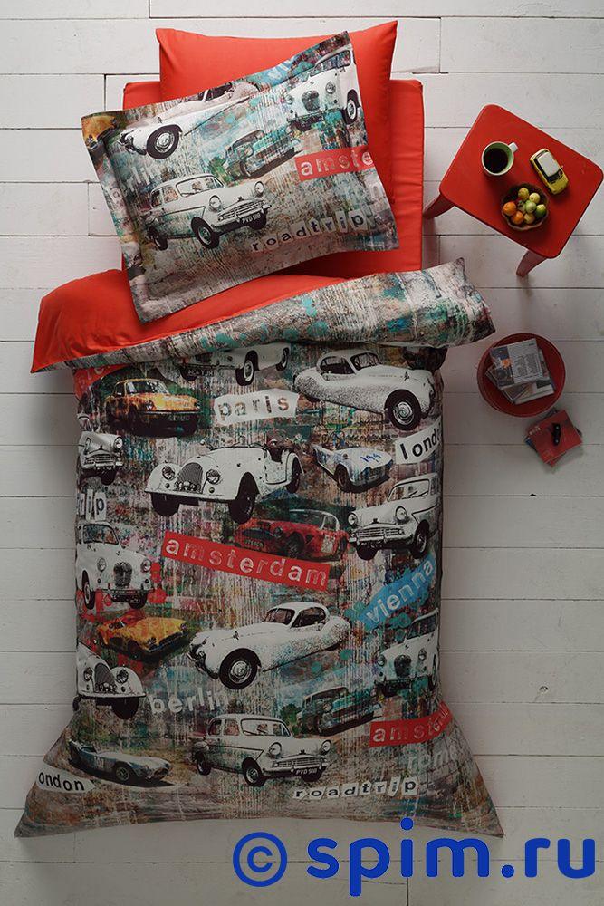 Постельное белье Tivolyo Delux Garage 1.5 спальное