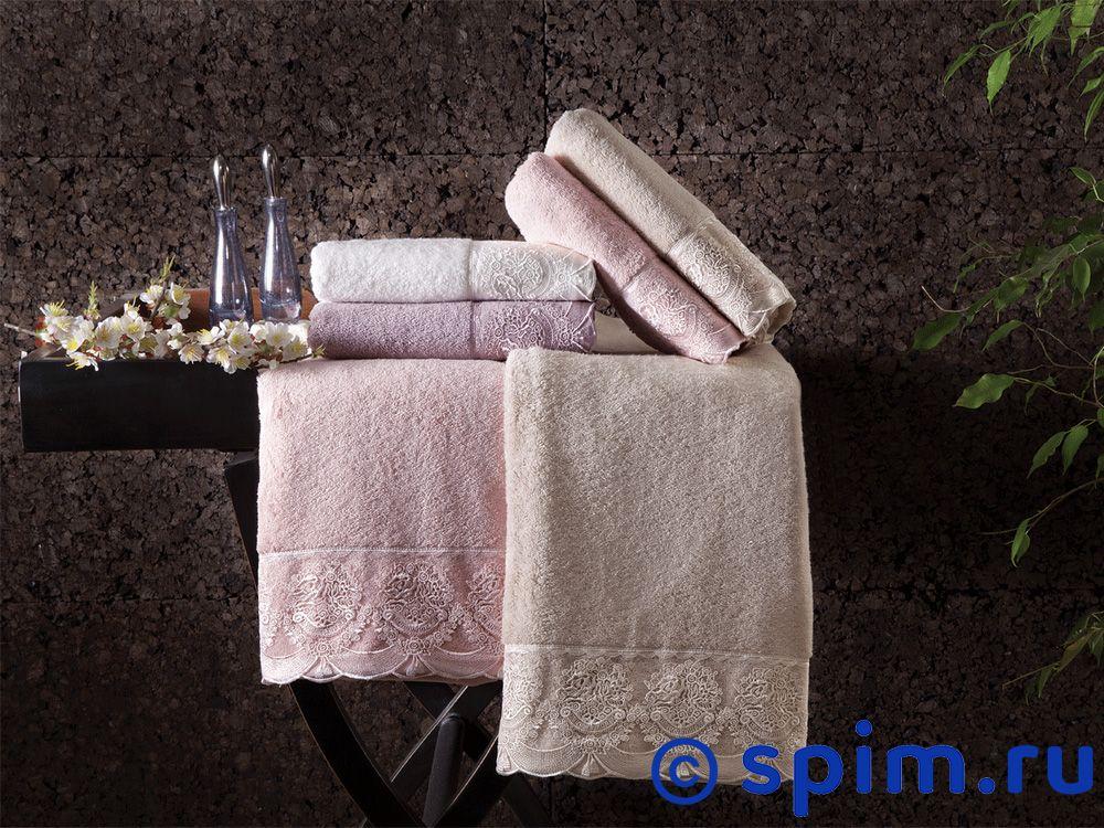 Набор из 2-х полотенец Tivolyo Diamant, кремовый полотенца pupilla набор из 2 полотенец stil цвет кремовый