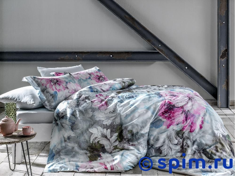 Постельное белье Tivolyo Delux Derin Евро-стандарт постельное белье tivolyo delux viola евро стандарт