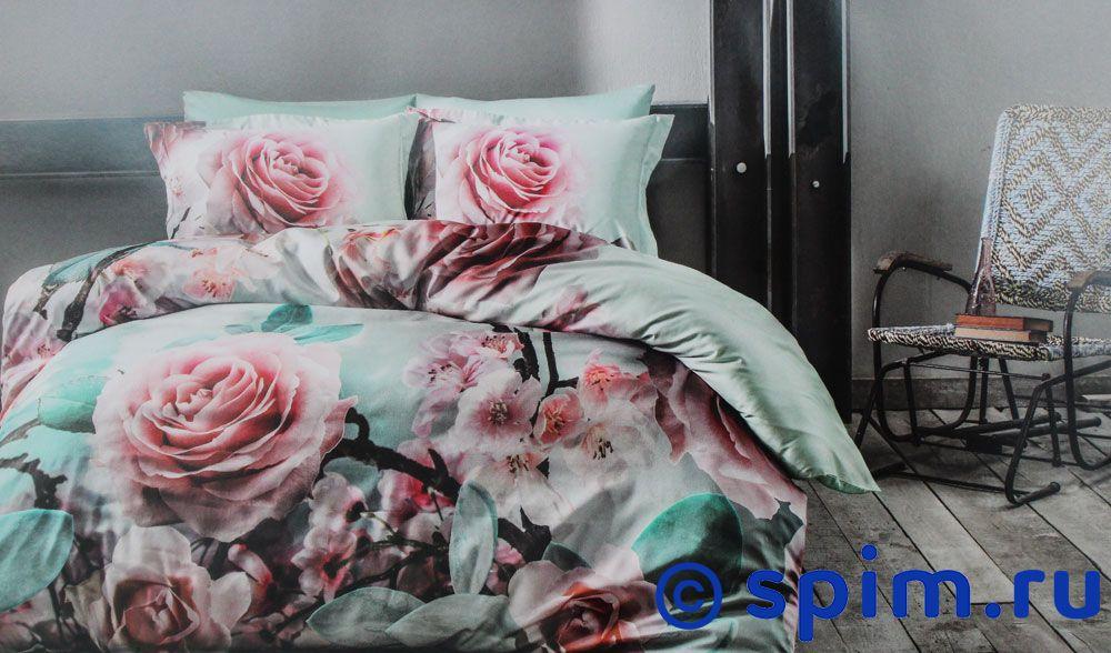Постельное белье Tivolyo Delux Rose Dream Евро-стандарт постельное белье luxe dream шоколад евро стандарт