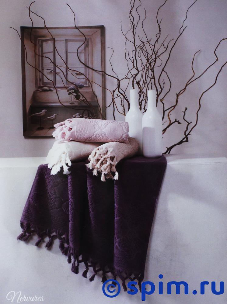 Набор из 2-х полотенец Tivolyo Nervures, кремовый полотенца pupilla набор из 2 полотенец stil цвет кремовый