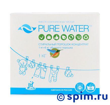 Порошок стиральный Pure Water (300 г) швейная машинка astralux 7350 pro series вышивальный блок ems700