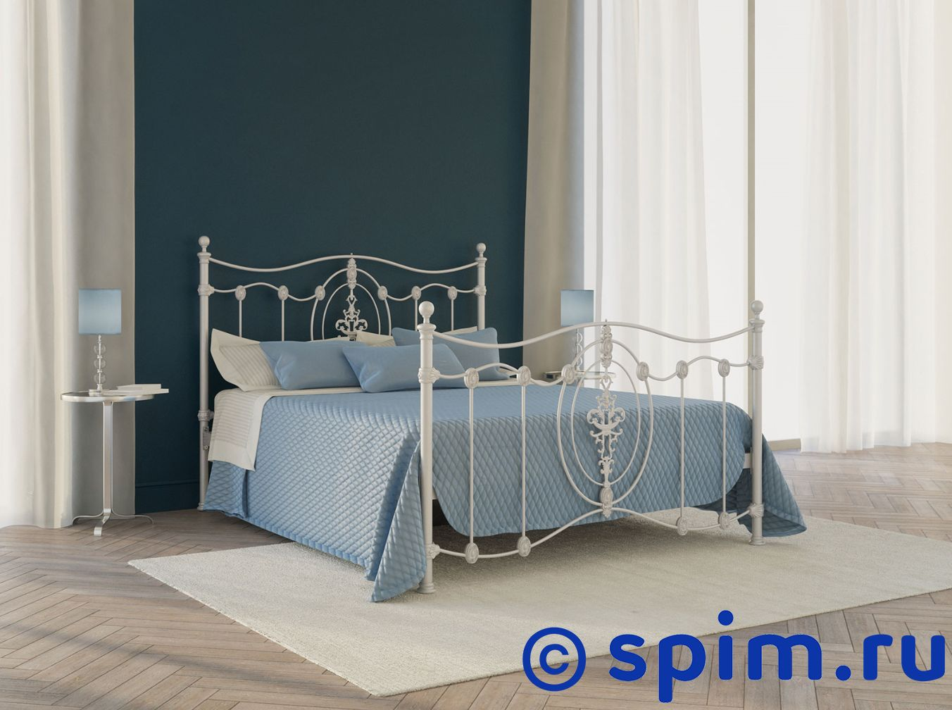 Кровать Originals by Dreamline Diana (2 спинки) 200х195 см