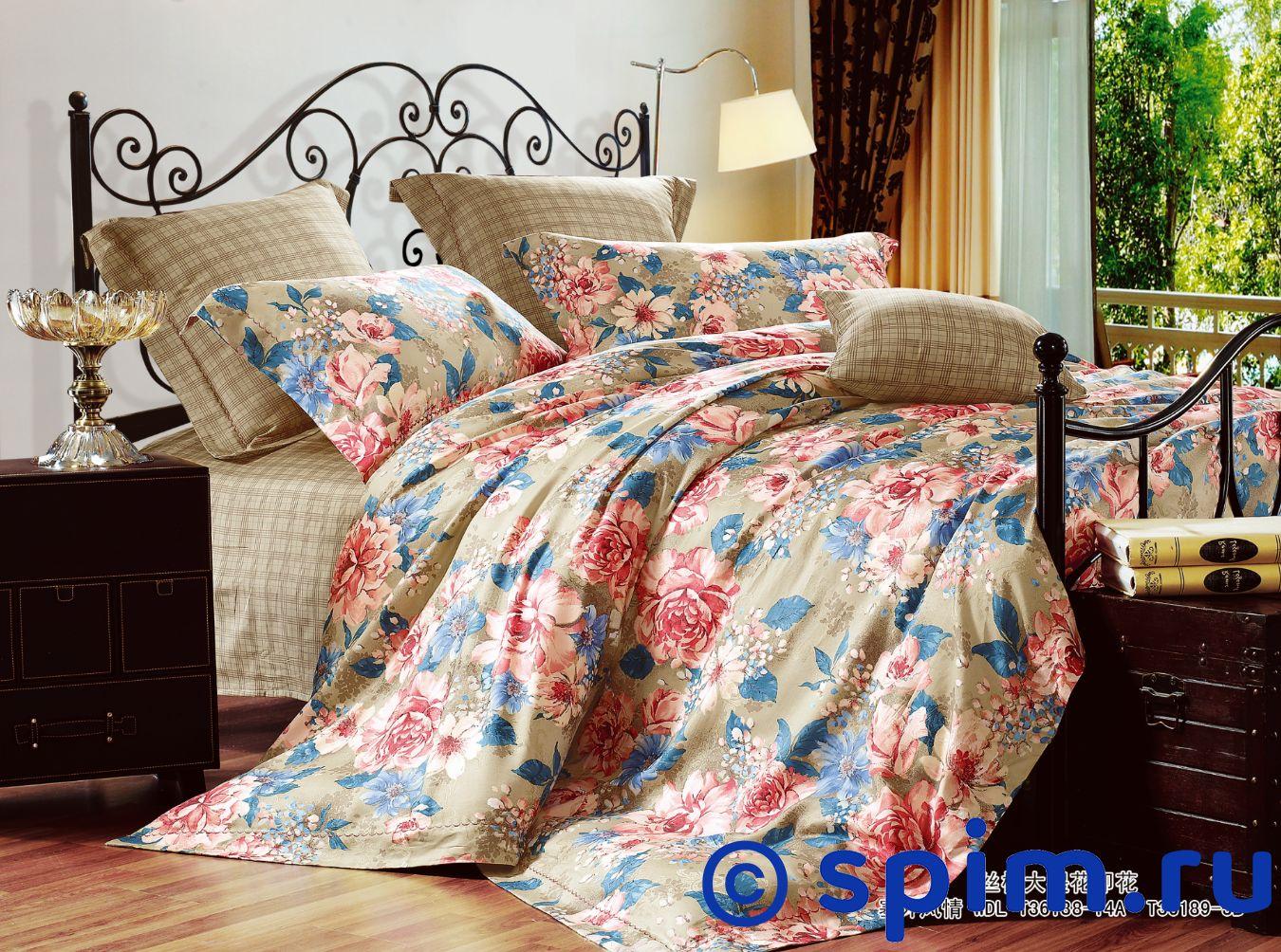 Постельное белье СайлиД Т41 Евро-стандарт постельное белье мартекс кпб печать атлас аурель шоколад евро