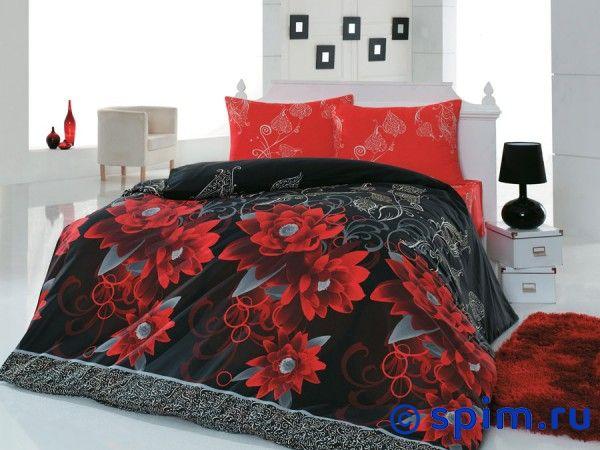Постельное белье Cotton Life Casablanca (50х70 см), красный 1.5 спальное restline подушка cotton 50 70