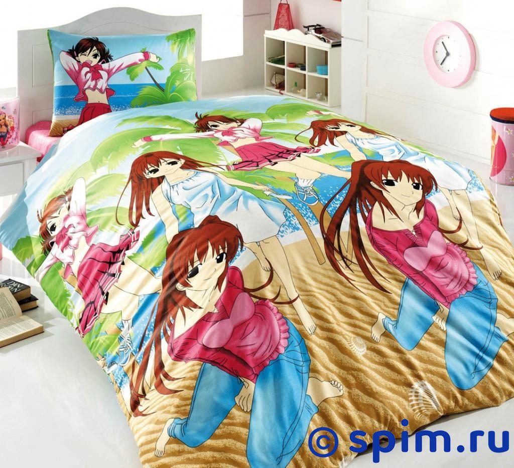 Постельное белье Cotton Life Girls (50х70 см) 1.5 спальное girls 100