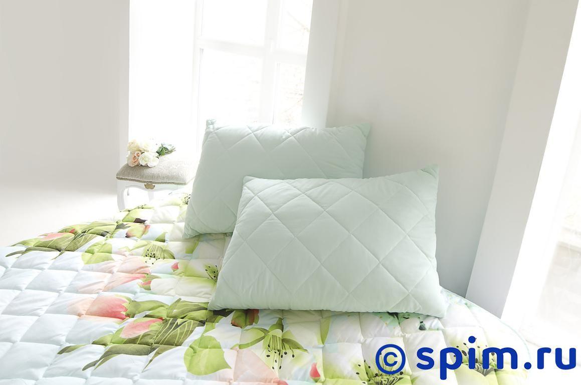 Покрывало Natures Яркие цветы с подушкой 200х220 см от spim.ru