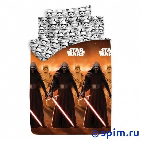 Постельное белье Star Wars Кайло Рен и штурмовики покрывало детское непоседа непоседа покрывало star wars стеганое чубакка