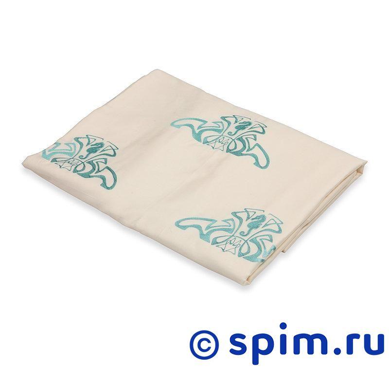Постельное белье Helgi Home Брюво, молочный 1.5 спальное
