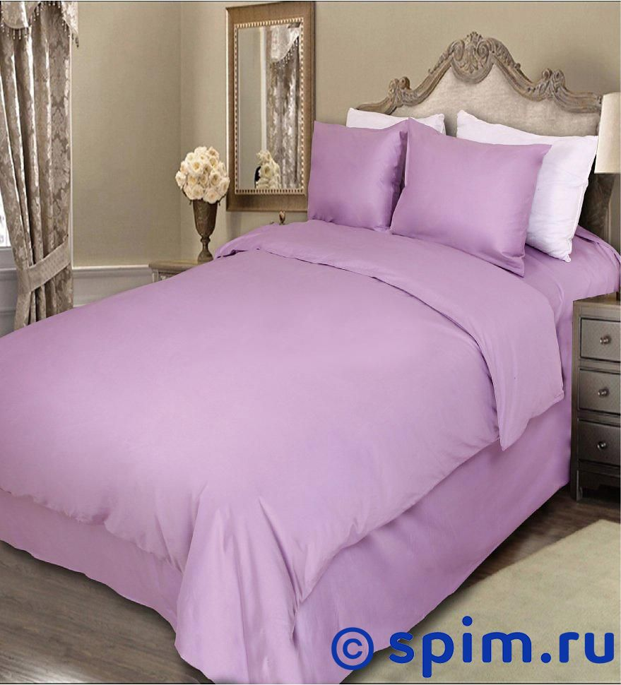 Постельное белье Luxe Dream Сиреневый 1.5 спальное