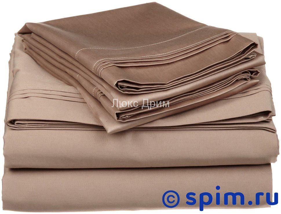 Постельное белье Luxe Dream Светло-Коричневый 1.5 спальное