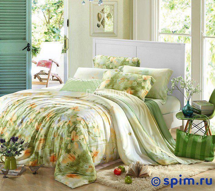 Постельное белье Luxe Dream Леон Евро-стандарт постельное белье luxe dream шоколад евро стандарт