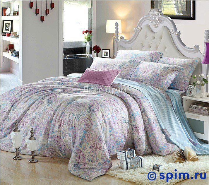 Постельное белье Luxe Dream Лорион Евро-стандарт постельное белье luxe dream шоколад евро стандарт
