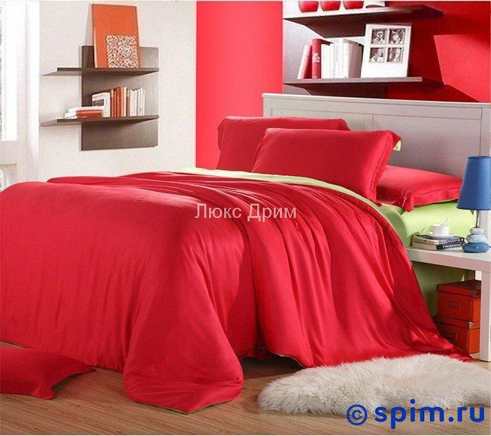 Постельное белье Luxe Dream Шатель Евро-стандарт постельное белье luxe dream шоколад евро стандарт
