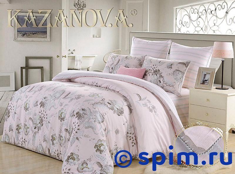 Постельное белье Kazanov.a. Форбури, розовый Семейное