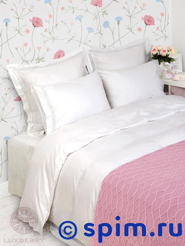 Постельное белье Luxberry Romantic Евро-стандарт кпб евро lux cotton romantic кбr 41 рис 11715 11716 вид 1 селин