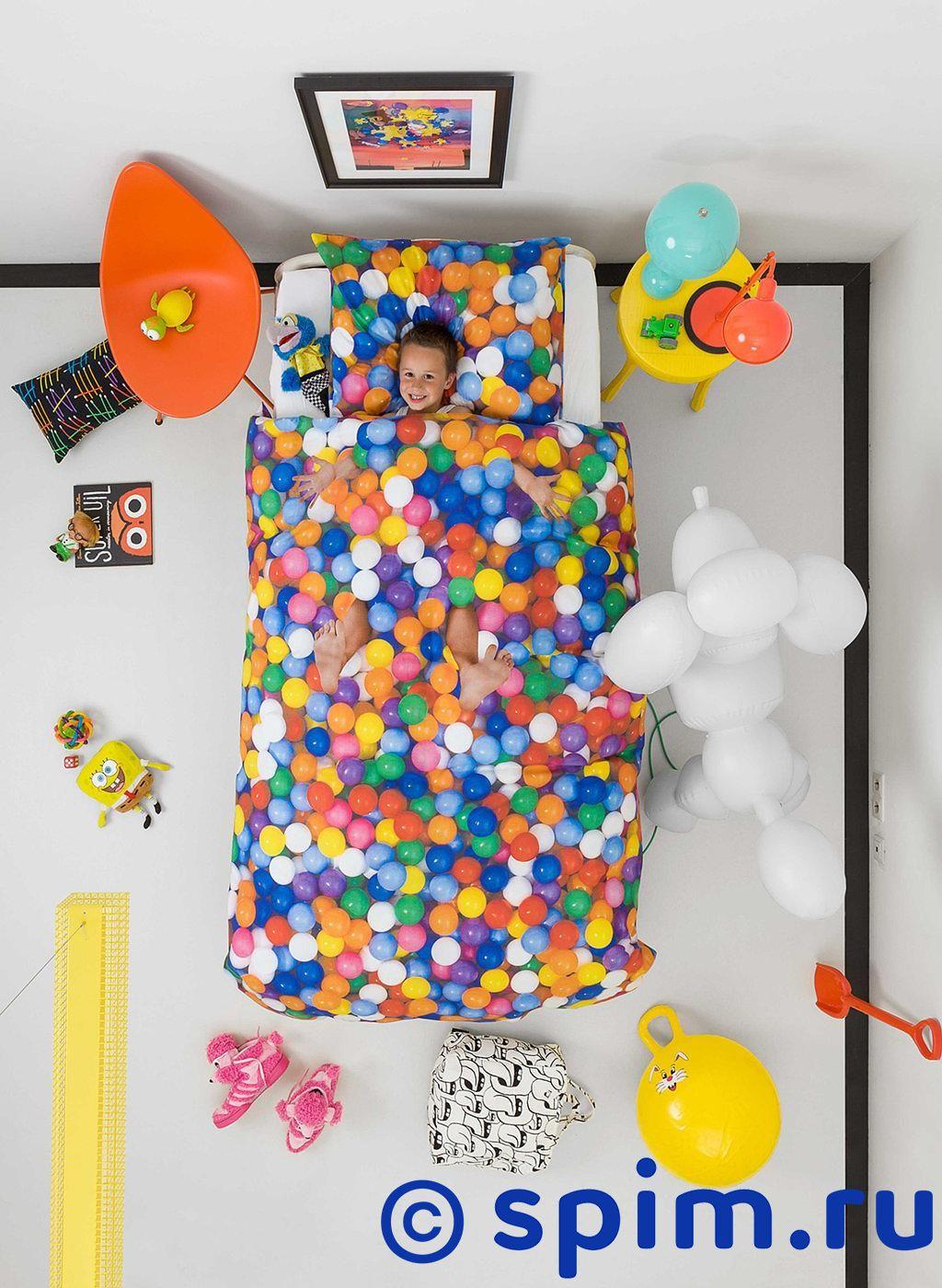 где купить Постельное белье Snurk Бассейн с шариками 1.5 спальное по лучшей цене