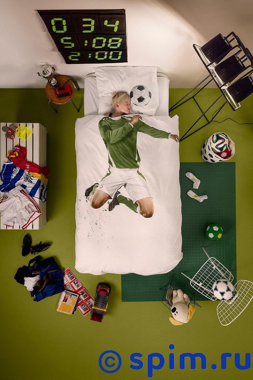 Постельное белье Snurk Футболист 1.5 спальное