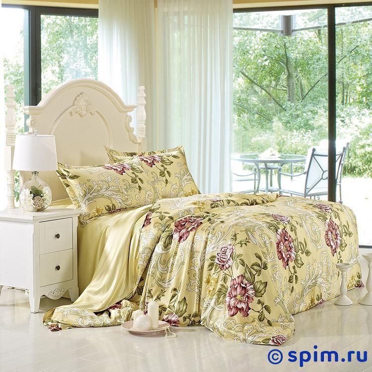 Постельное белье Luxe Dream Азалия Евро-стандарт постельное белье luxe dream шоколад евро стандарт