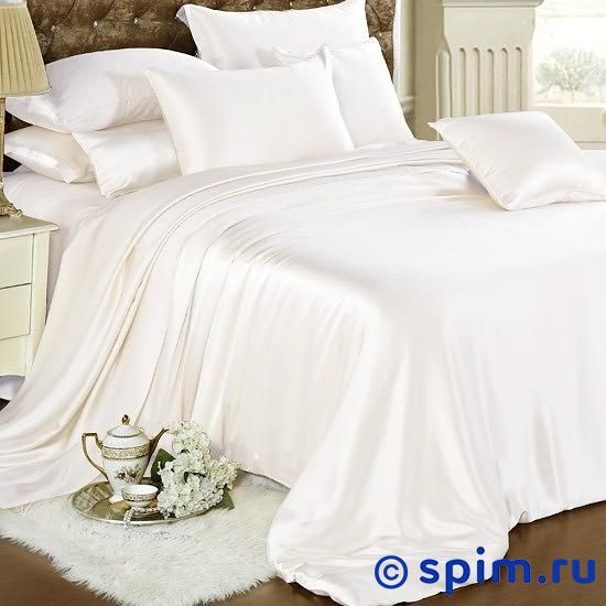 Постельное белье Luxe Dream Белый Евро-стандарт