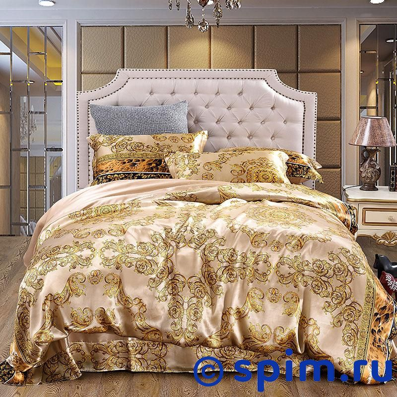 Постельное белье Luxe Dream Висконти Евро-стандарт