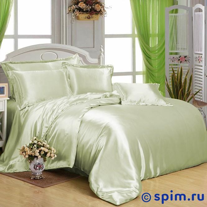 Постельное белье Luxe Dream Светло-Зеленый Евро-стандарт