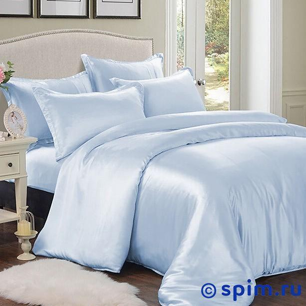 Постельное белье Luxe Dream Sky blue Евро-стандарт