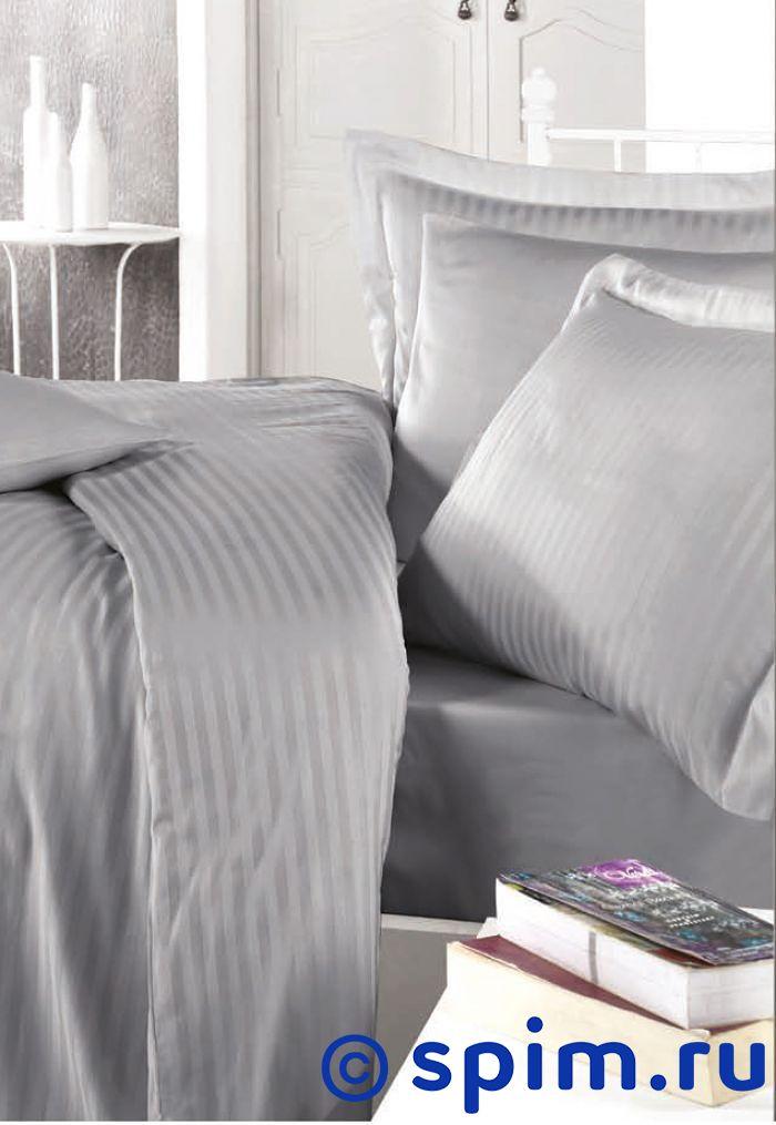 Комплект Clasy Stripe Серый Евро-стандарт