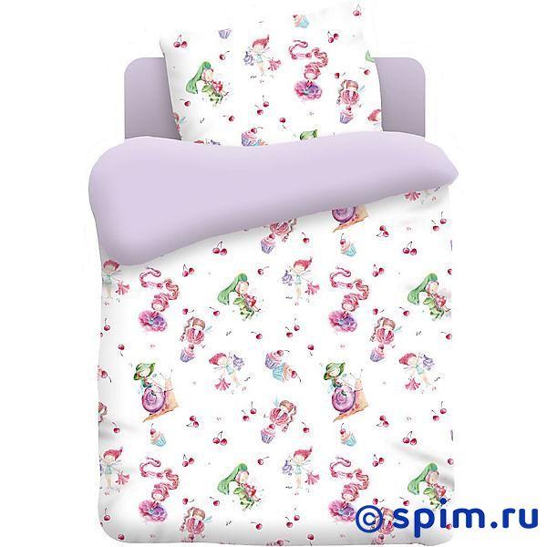 Комплект в детскую кроватку Непоседа Маленькие феечки