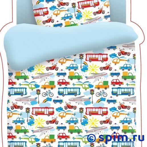 Комплект в детскую кроватку Непоседа Городское движение