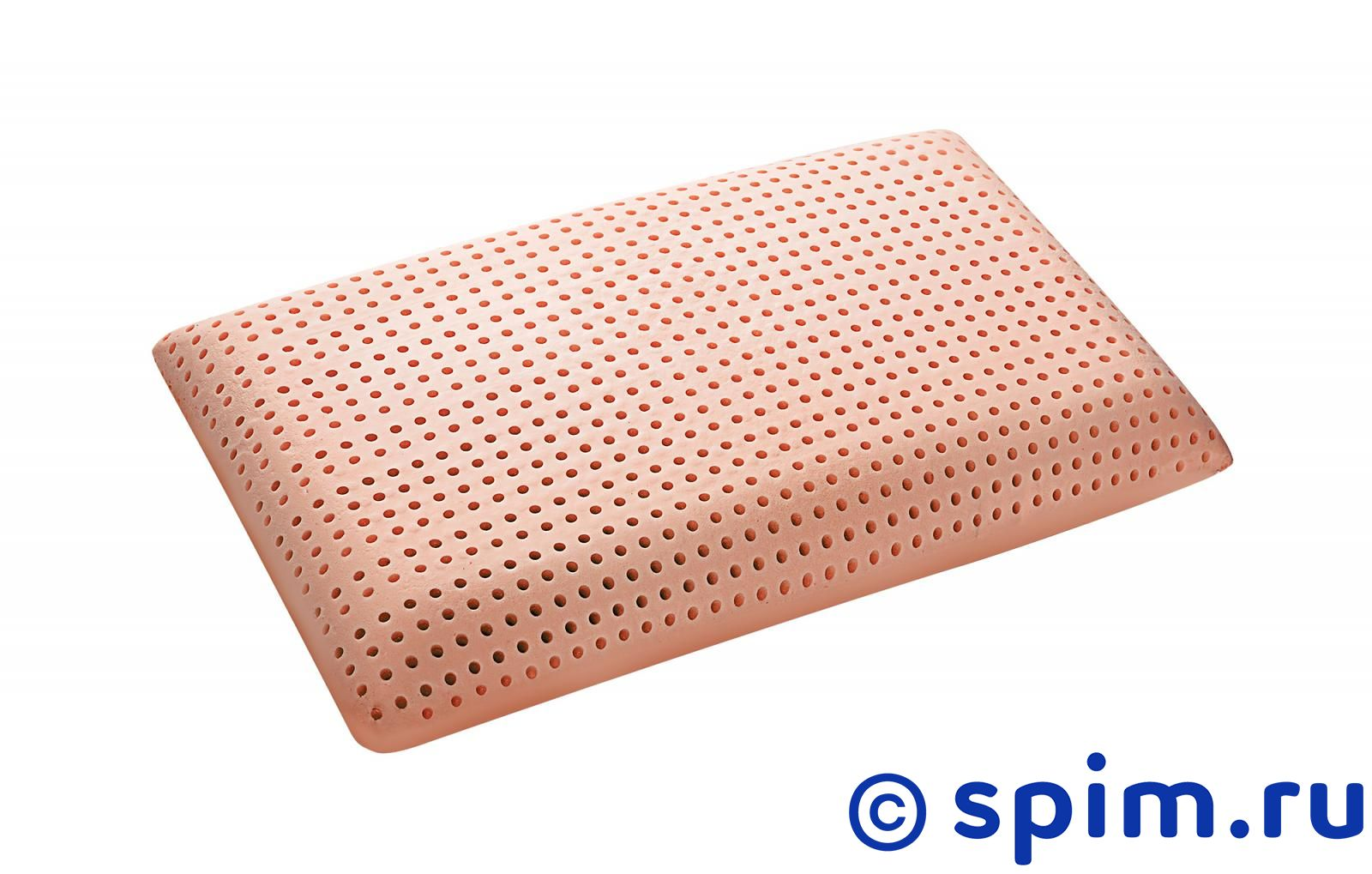 Подушка Saponetta Clean Memory позиционеры для сна candide подушка угловая memory 15° 60x120 см