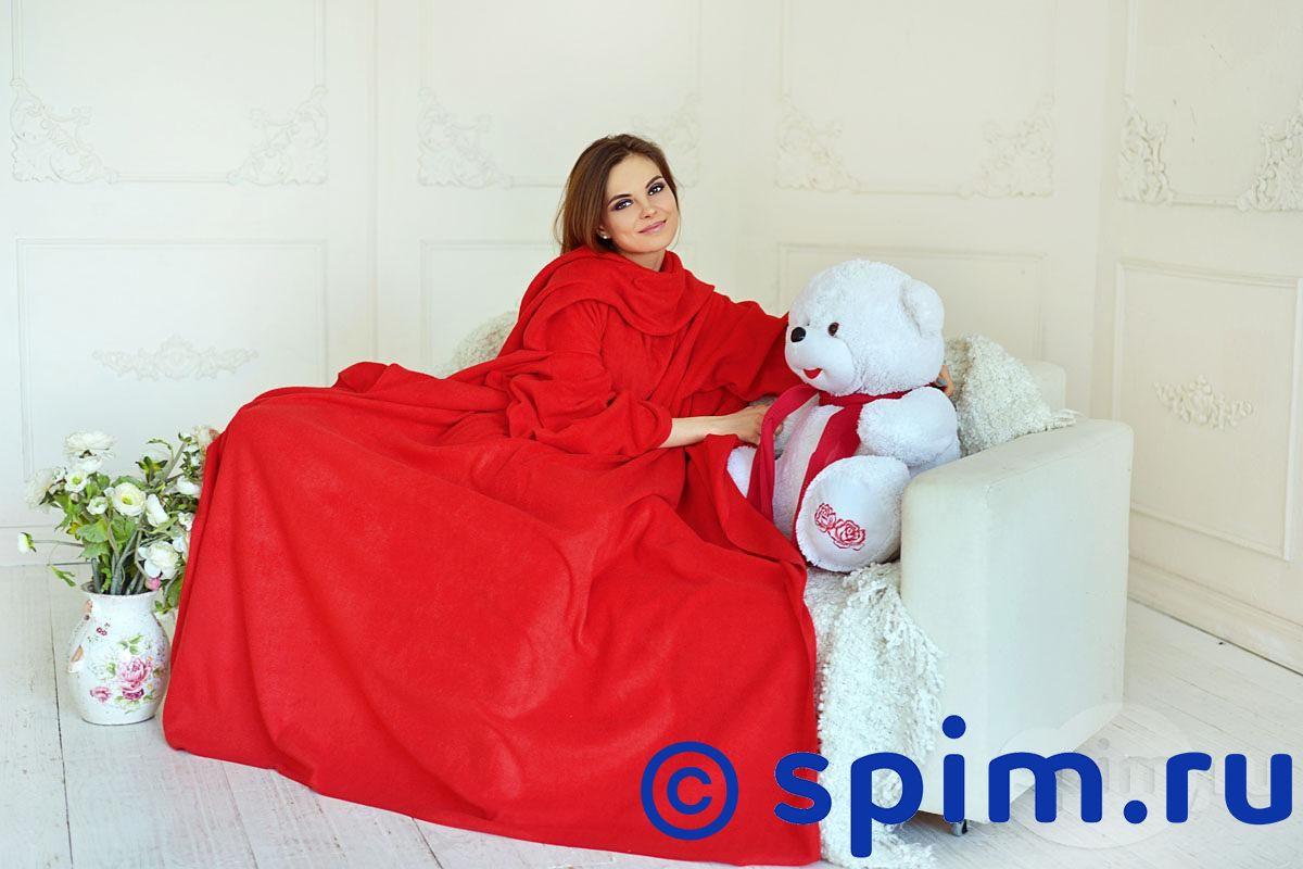 Плед с рукавами Sleepline, красный