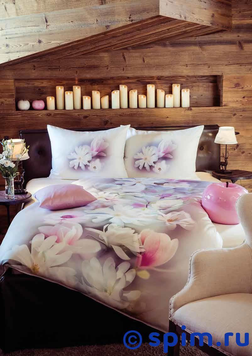 Постельное белье Johann Hefel Evergreen Magnolia Евро-стандарт постельное белье johann hefel uni евро стандарт