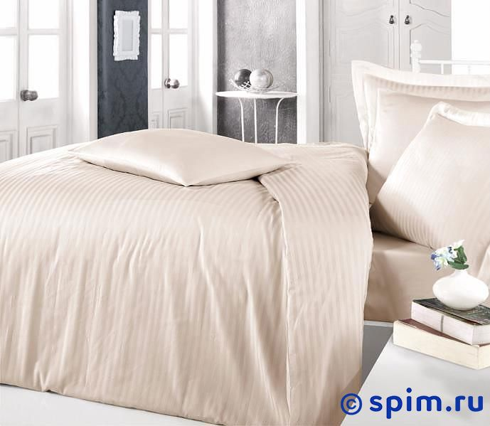 Постельное белье Clasy Stripe Капучино Евро-стандарт