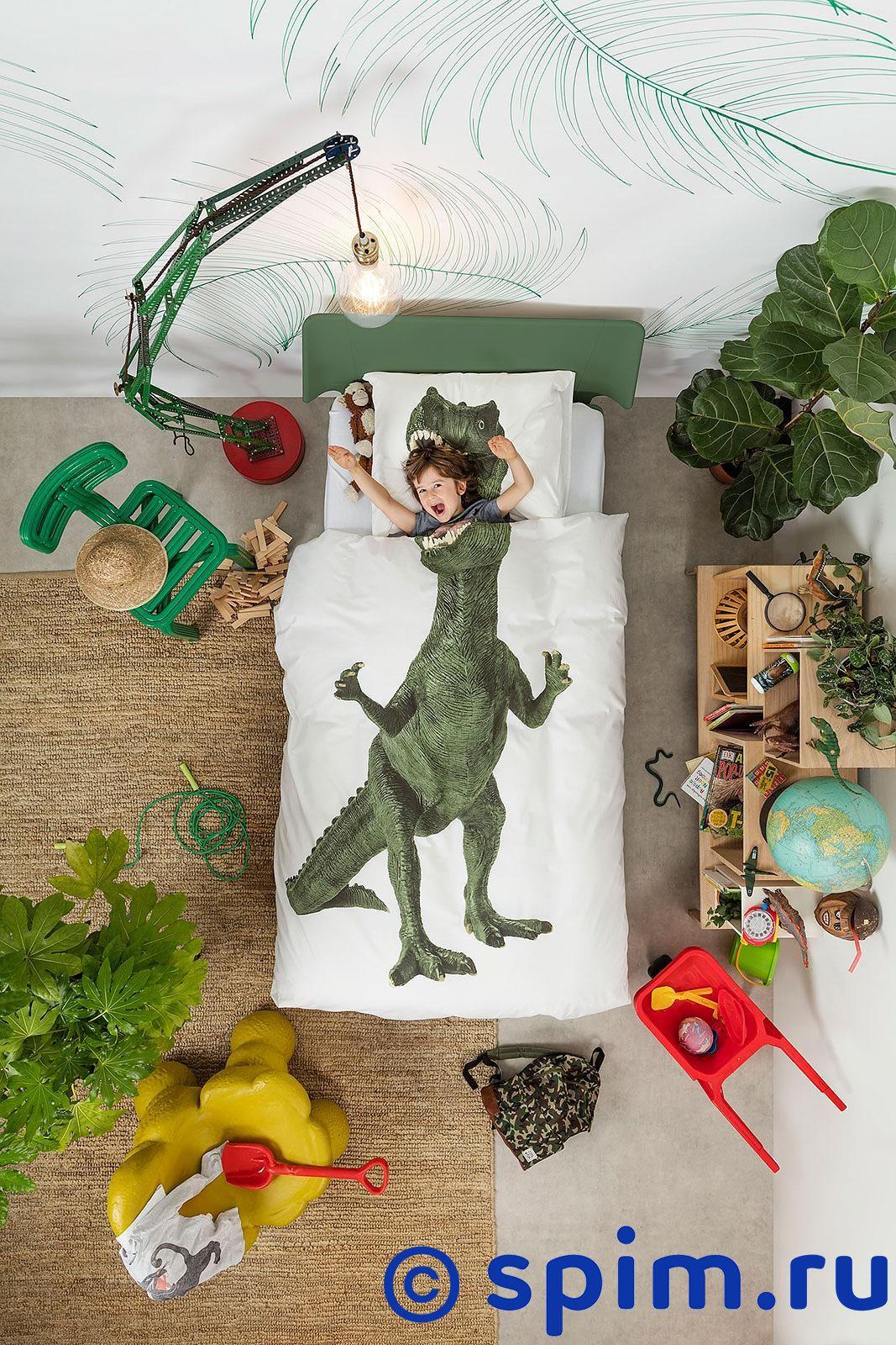 Постельное белье Snurk Тиранозавр Рекс Евро-стандарт