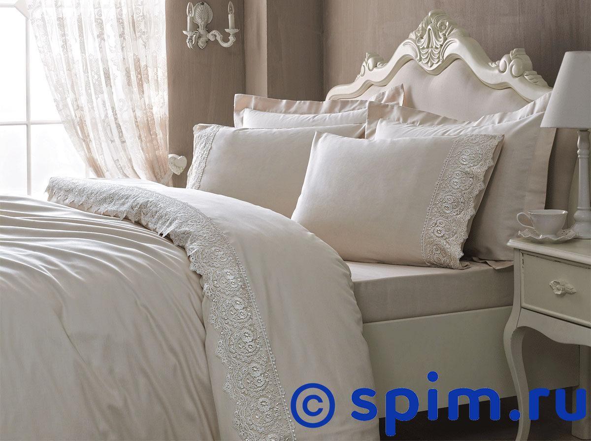Постельное белье Tivolyo Elegant, бежевый 1.5 спальное