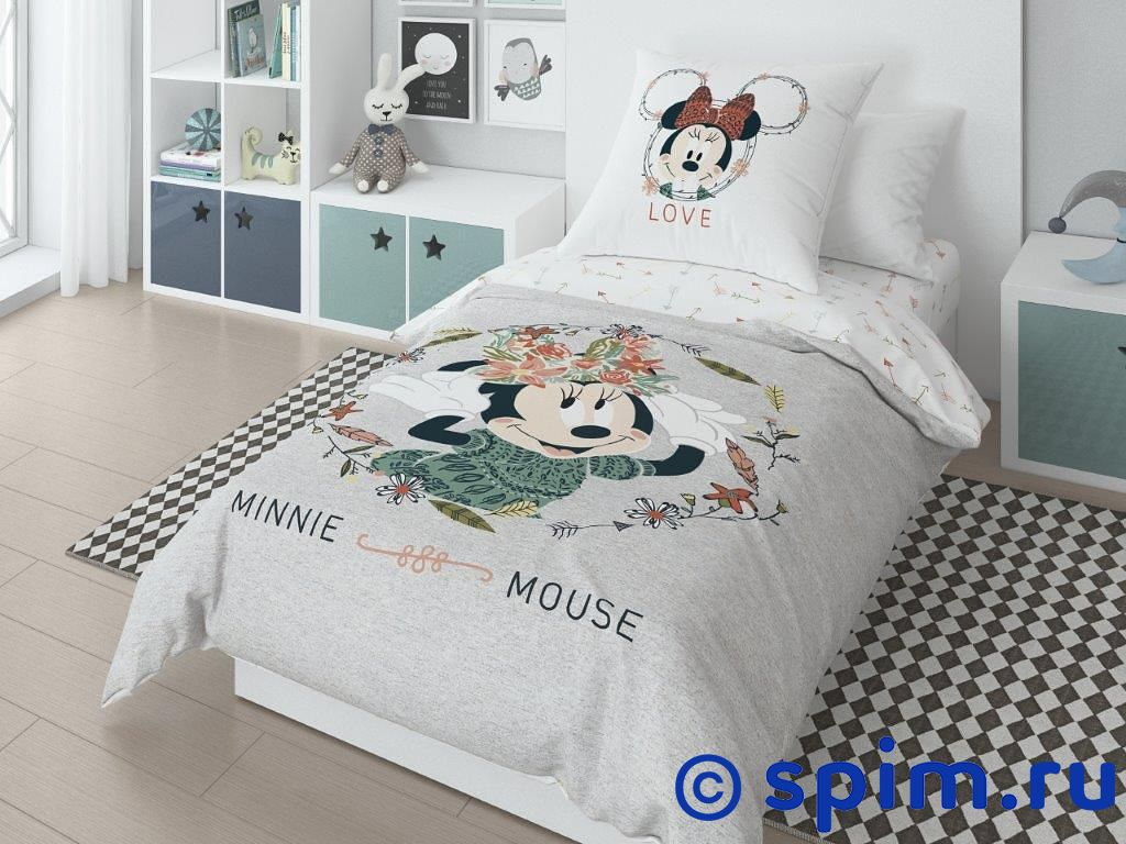 Постельное белье Minnie Mouse Нордтекс simba тостер minnie mouse 19 см