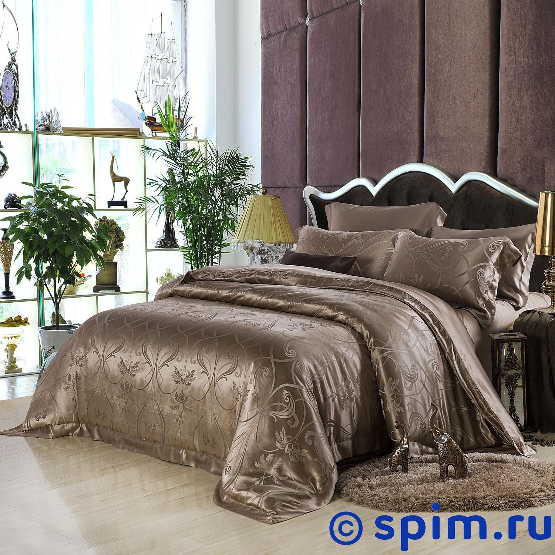 Постельное белье Luxe Dream Роше Евро-стандарт постельное белье luxe dream шоколад евро стандарт