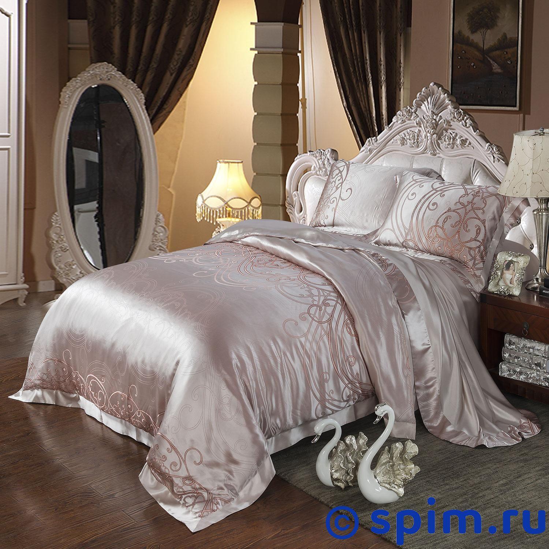Постельное белье Luxe Dream Флёр Евро-стандарт постельное белье luxe dream шоколад евро стандарт