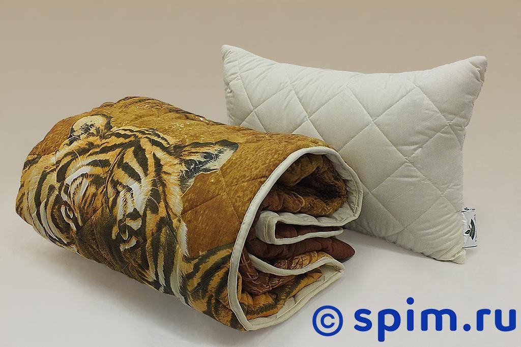 Покрывало Natures Уссурийские тигры с подушкой 200х220 см